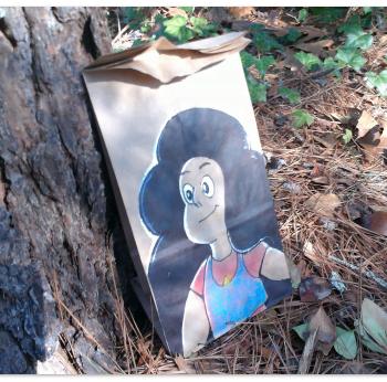 lunch bag art : stevoonie