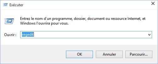 Desactiver OneDrive Windows 10 avec regedit