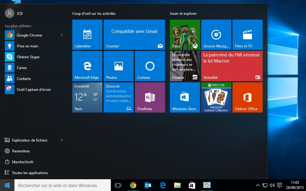 Desactiver lecran de verrouillage Windows 10 demarrer