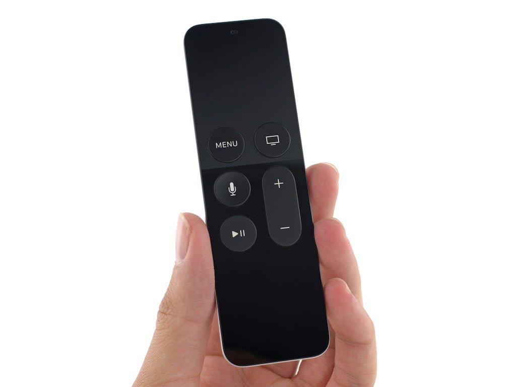 apple tv 4 telecommande recto