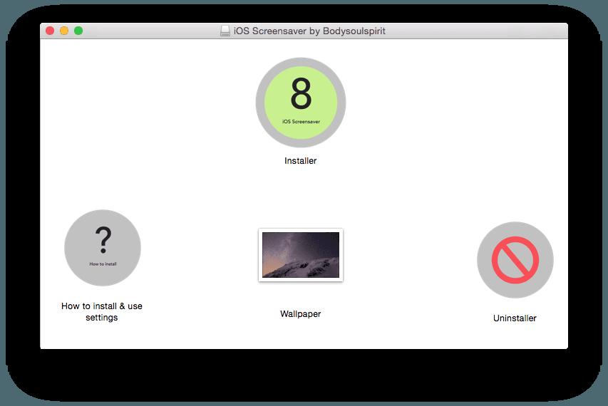 apple watch ios screensaver