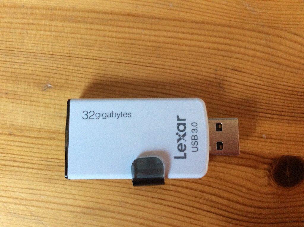 Lexar Jumpdrive M20i port USB 3.0