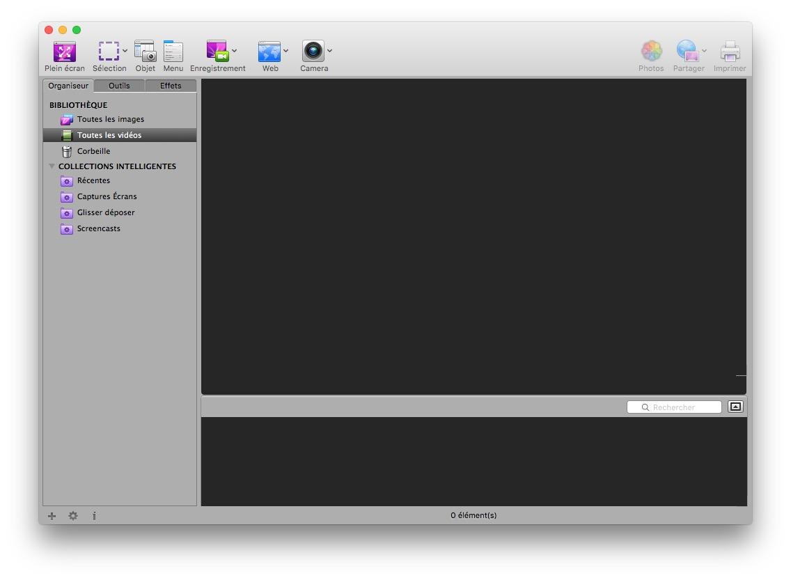 faire une capture d'ecran sur mac avec app voila