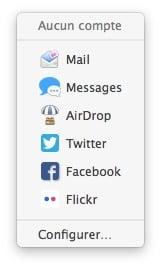 faire une capture d'ecran sur mac partage reseaux sociaux