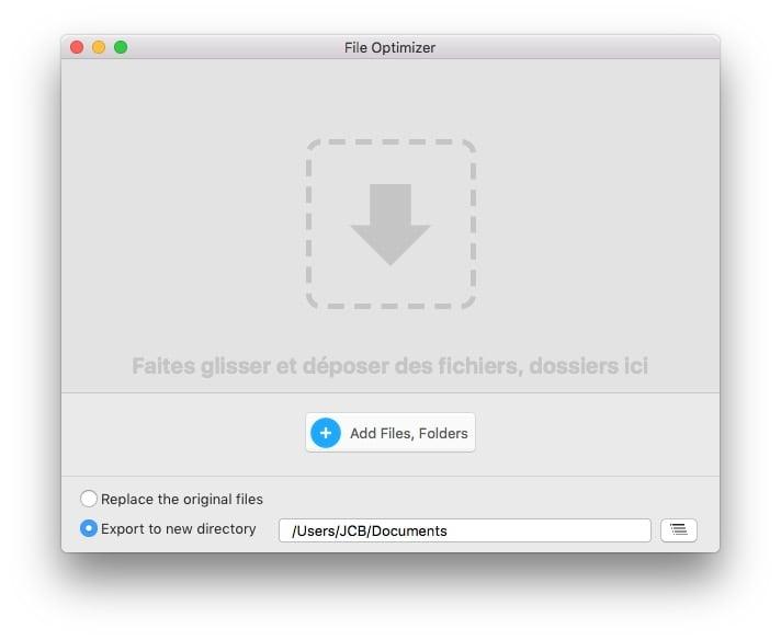 optimiser ses images sur mac file optimizer