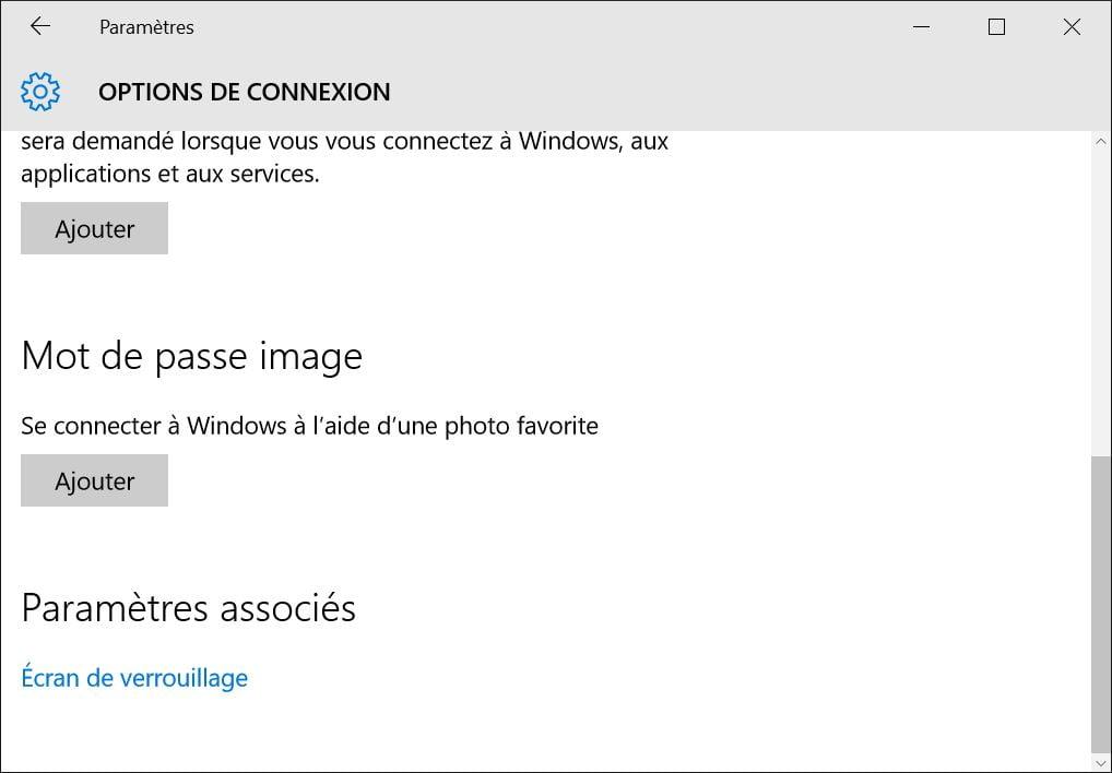 utiliser une image comme mot de passe windows 10 picture