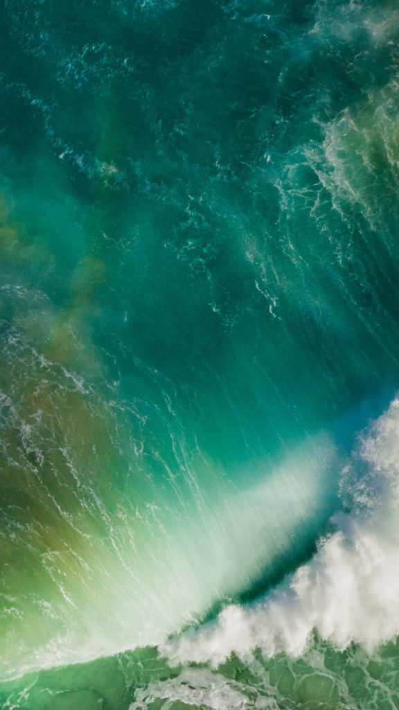 fond d'ecran MacOS Sierra ios 10 iphone the wave