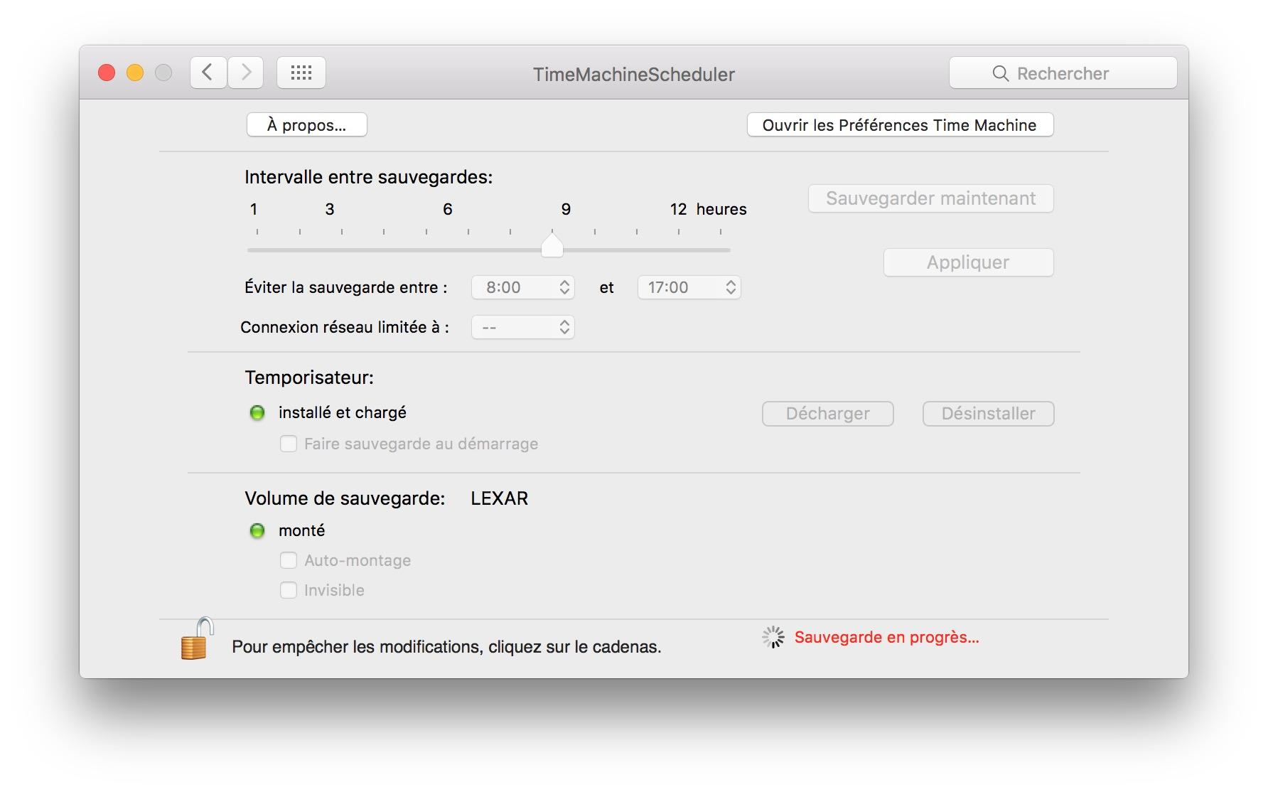 Programmer Timae Machine time machine scheduler