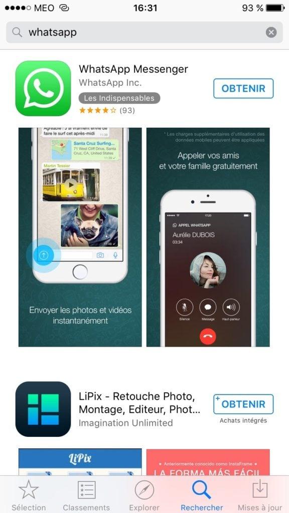 WhatsApp Mac ios iphone