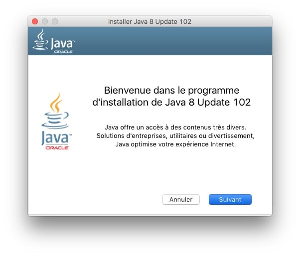 Installer java macos sierra java 8 programme installation