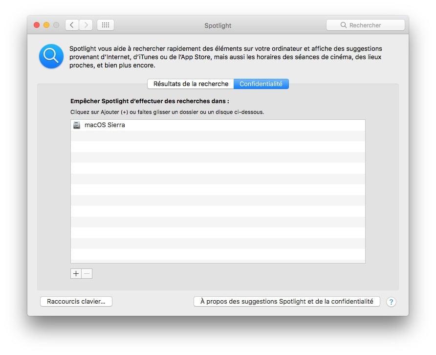 macOS Sierra lent spotlight