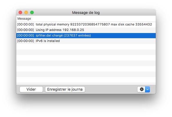 uTorrent macOS Sierra verifier ipfilter