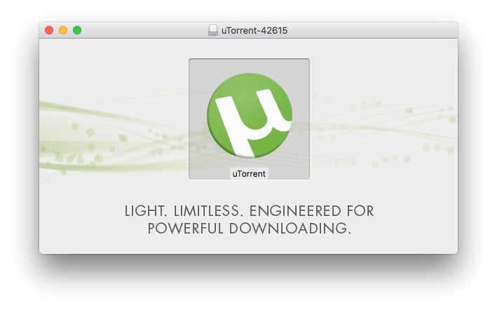 utorrent macos sierra how to
