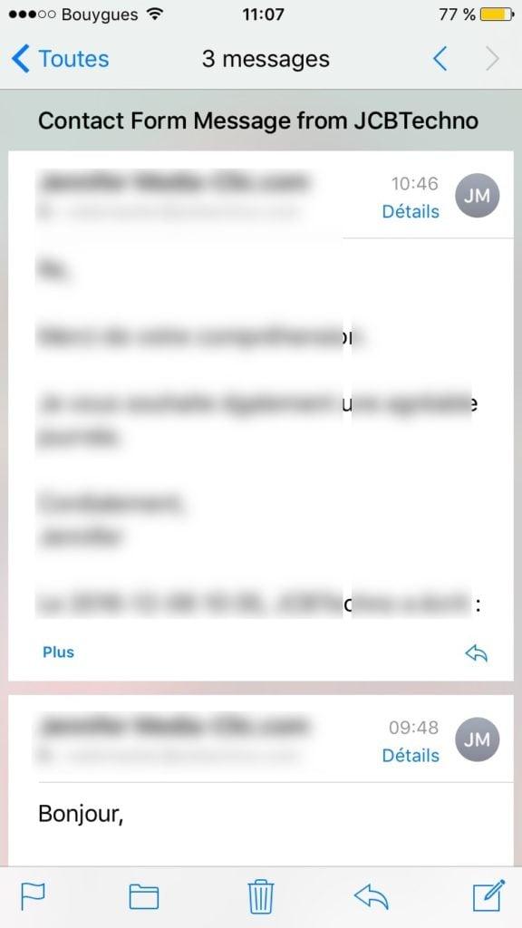 Afficher les messages les plus récents en haut avec Mail tutoriel mac