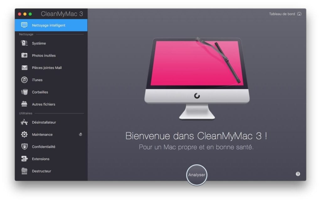 Nettoyer macOS Sierra nettoyage intelligent