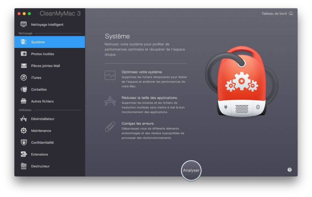 Nettoyer macOS Sierra systeme uniquement