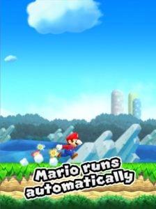 Super Mario iPhone court automatiquement