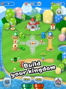 Super Mario iPhone ipad construire royaume