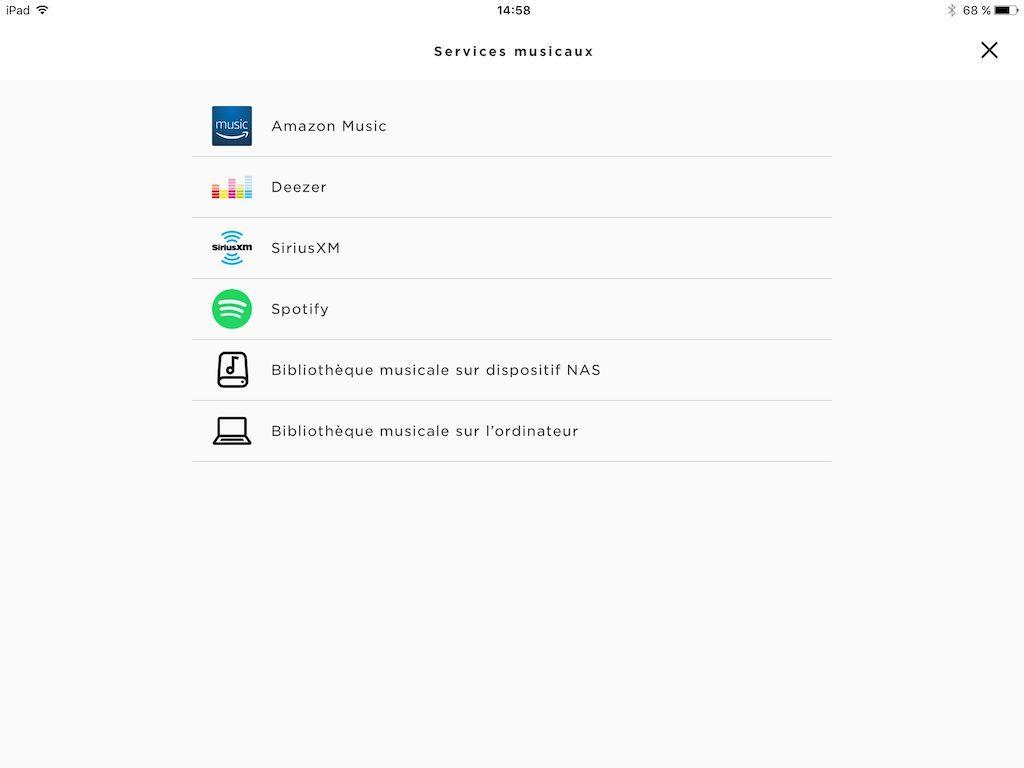 Bose SoundTouch 30 radios internet