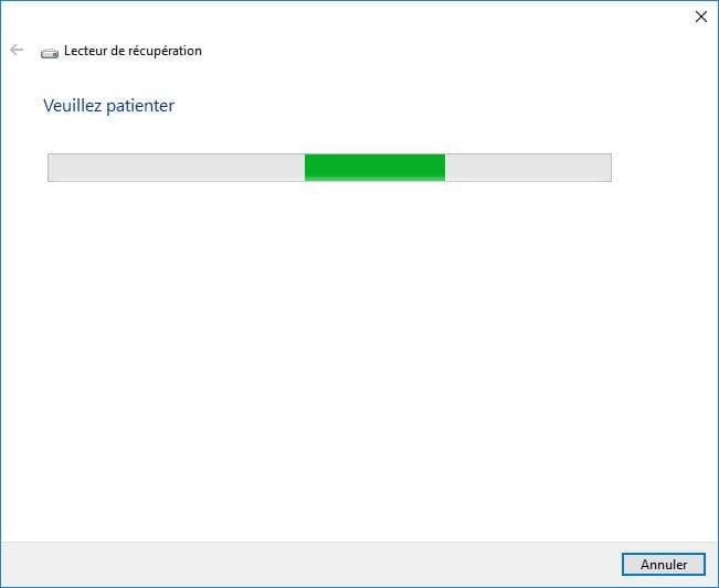 Windows 10 ne démarre plus créer clé usb