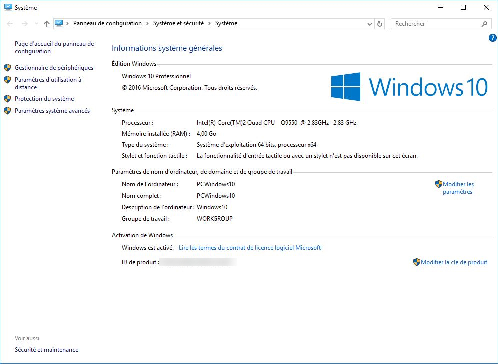 obtenir windows 10 windows 10 activation