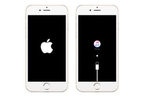 iPhone bloqué sur le logo apple aide