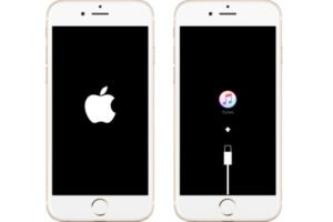 iPhone bloqué sur le logo apple ou itunes