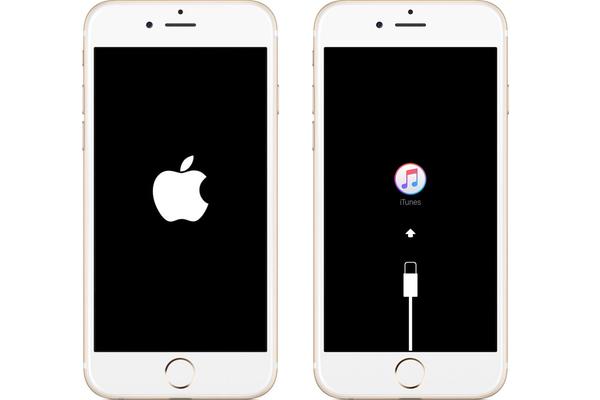 iPhone bloqué sur le logo apple ou itunes