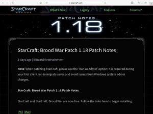 Jouer gratuitement a Starcraft sur Mac
