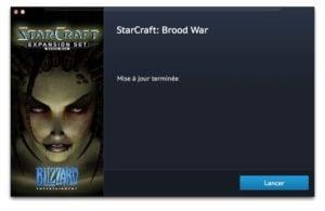 lancer starcraft sur mac