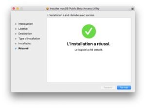 Installer macOS High Sierra beta public