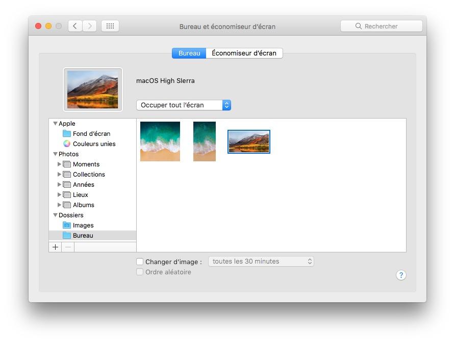 télécharger le fond d'écran macOS High Sierra macos high sierra installer fond decran
