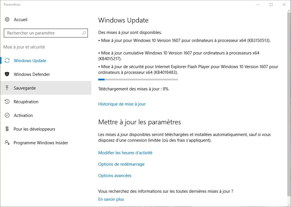 ransomwares windows update avant tout