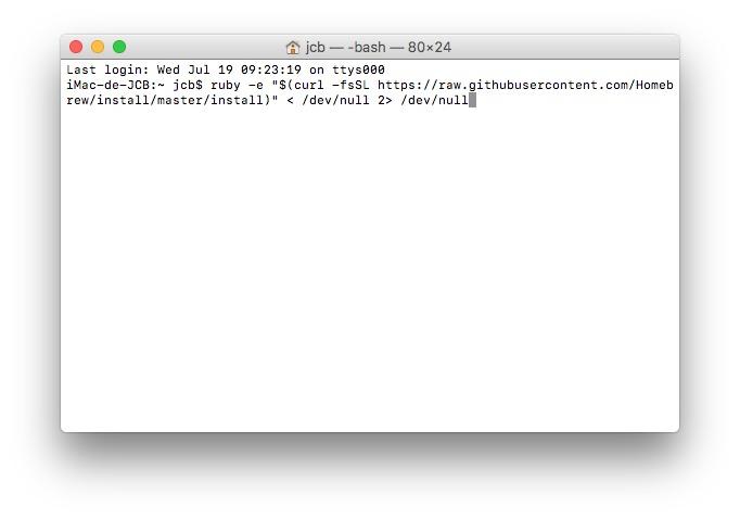 Tester son debit Internet sur mac speedtest