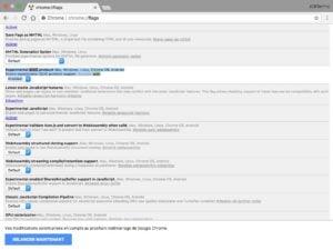 Accelerer Google Chrome Mac QUIC Protocol