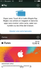 Configurer Apple Pay avec wallet