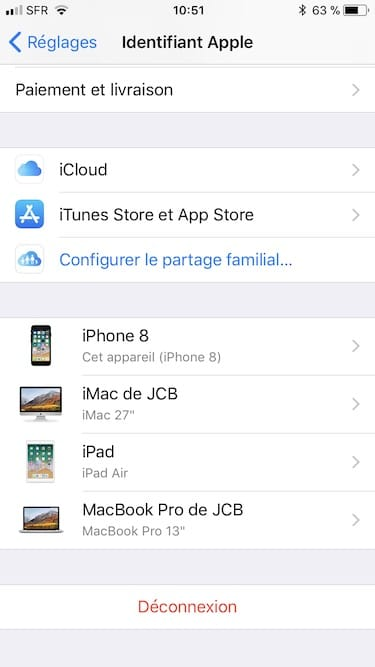 Recevoir les Messages de son iPhone sur tous ses appareils Apple appareils de confiance