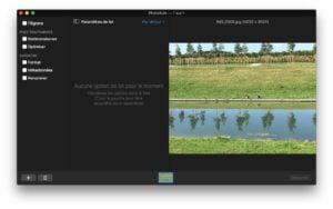Tatouer ses photos sur Mac ajouter photo et filigrane