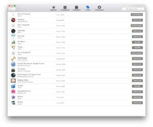 Obtenir les anciens Mac OS X gratuitement