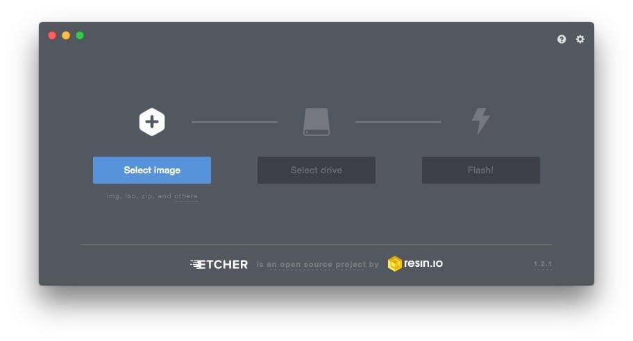 Creer une carte SD bootable de Linux Etcher