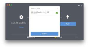 Creer une carte SD bootable de Linux SD 4go