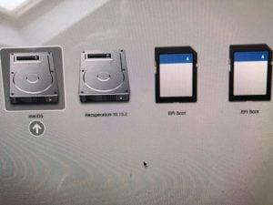 Creer une carte SD bootable de Linux demarrage sur mac