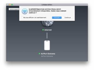 Downgrade Airport Extreme firmware ancien