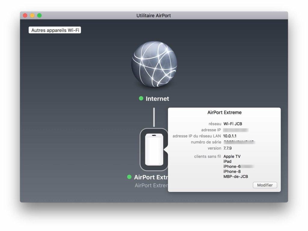 Downgrade Airport firmware tutoriel