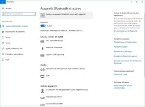activer bluetooth sur windows
