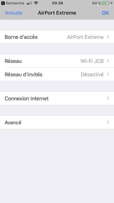 Changer les DNS de son Apple AirPort avec iPhone sous iOS