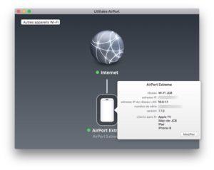 Changer les DNS de son Apple AirPort reglages
