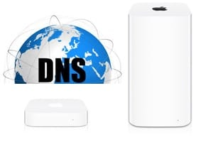 Changer les DNS de son Apple AirPort tutoriel Mac iPhone