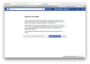 Supprimer son compte Facebook definitivement et a jamais