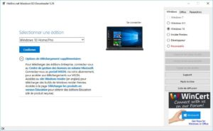 Telecharger Windows 10 Home Pro